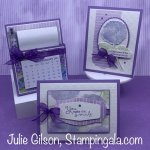 Greeting Cards & Desk Calendar created with Stampin
