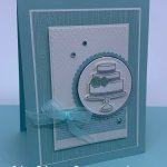 Congratulation Card made with the Prettiest Birthday Bundle. #Stampin