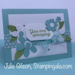 Greeting Card created with the In Bloom Bundle for Makeover Monday. #Stampin