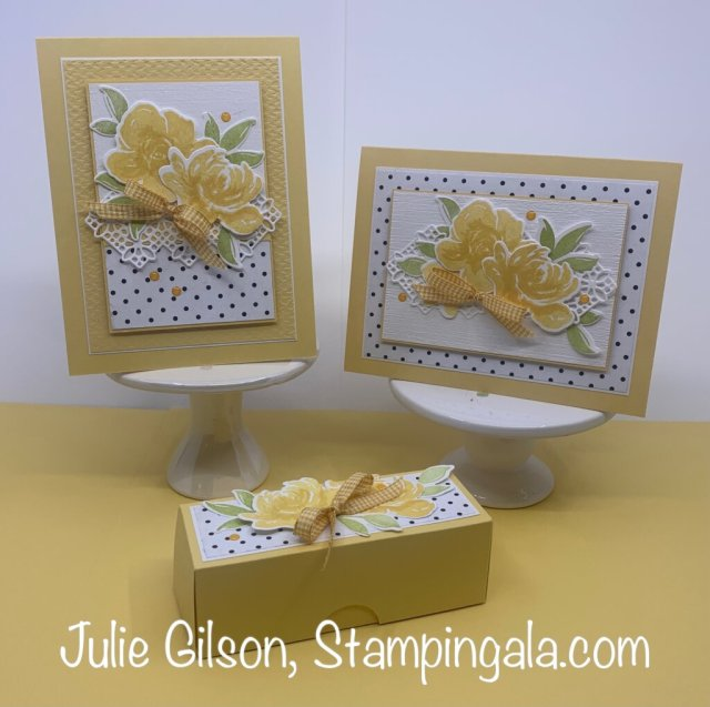 Greeting card created with Stampin' Up's All Thing Fabulous Stamp Set.  #Stampin' Gala, #Julie Gilson, #Birthday, #Handmade Card, #All Thing Fabulous, #Stampin' Up