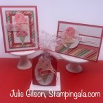Greeting Cards and a Treat Holder created with Stampin