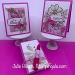 Greeting Cards & Notepad created with Stampin