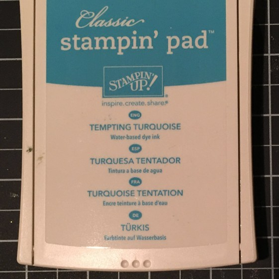 Tempting Turquoise Ink Pad