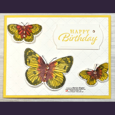 Butterfly Brilliance - Card 2
