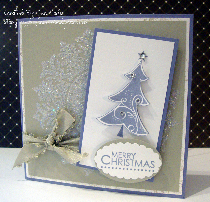 Christmas Cards With Stampin Up Stamping Elegance
