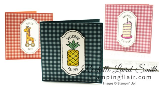 Colouring in stamps with Stampin' Write Markers