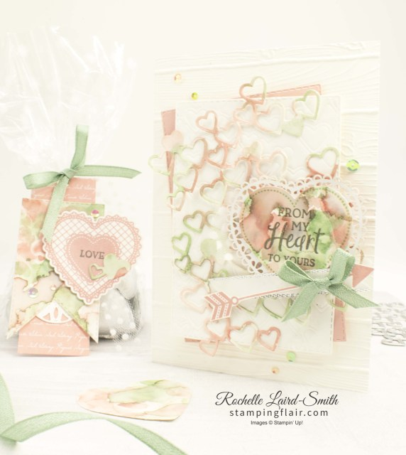 Heartfelt bundle, Stampin' Up!, Watercolouring with aqua painters