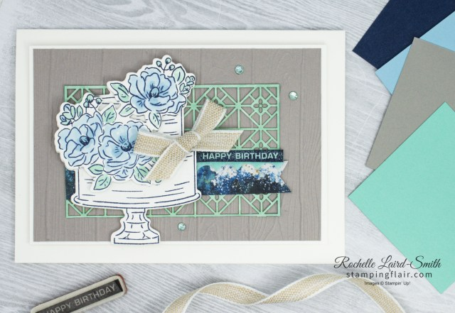 Happy Birthday Stamp Set, How to Colour with Stampin' Blends Alcohol Markers