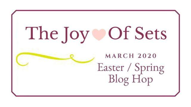 Joy of Sets Easter Header