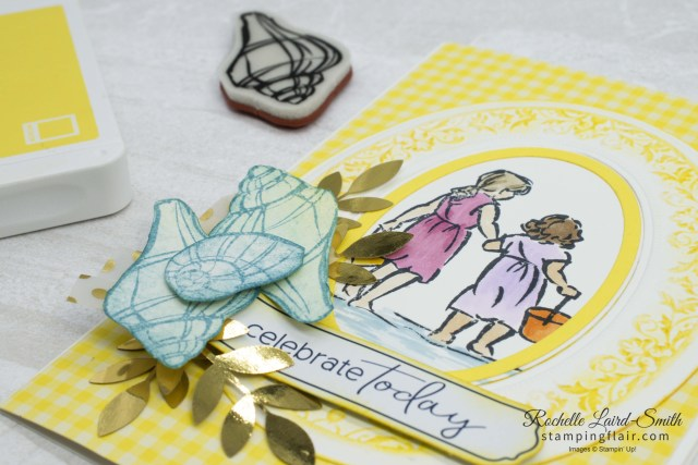 Stampin' Up! Stamp N' Hop Blog Hop, Boys/Girls, Beautiful moments card
