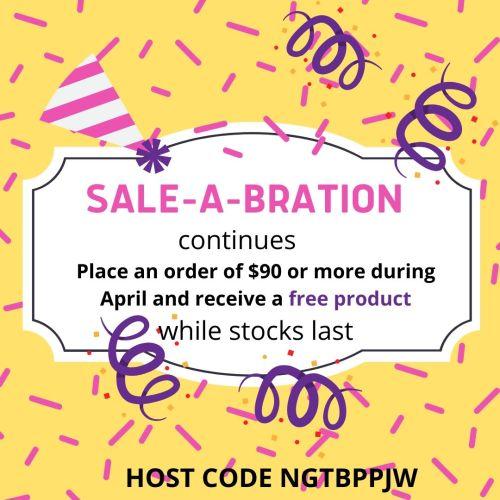 Sale-A-Bration offer