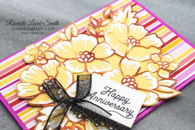 Stampin' Up! Handmade card with Blossoms