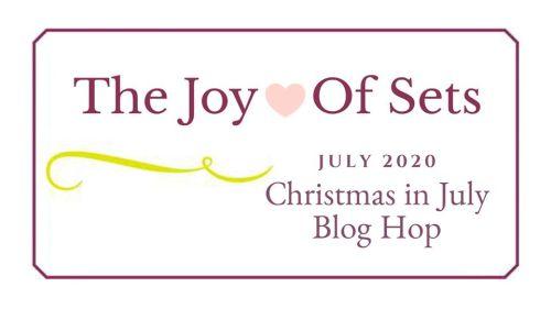 Joy of Sets, Christmas in July Header