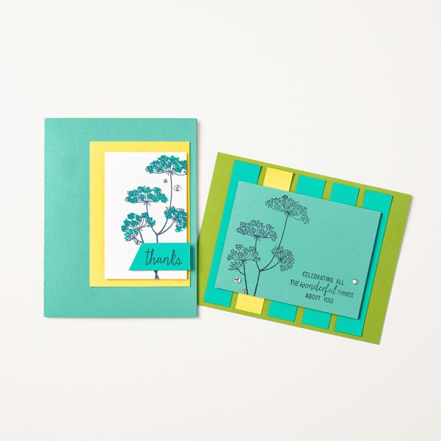 Queen Anne's Lace stamp set, Stampin' Up!