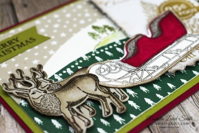 New at SU Blog Hop, November 2020, Wishes & Wonder bundle, Reindeer, Stampin' Up!, SU, Quite Curvy Variety bundle, Christmas card