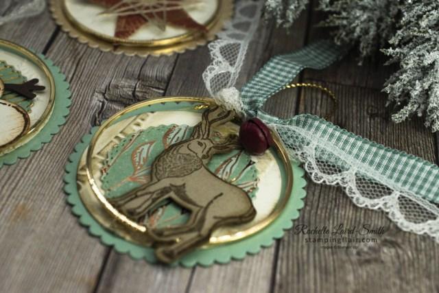 Ink Stamp Share Blog Hop, November 2020, Christmas Tree Decorations, Ornaments, Reindeer, Wishes & Wonder Bundle, Gold Hoops, Stampin' Up!, SU