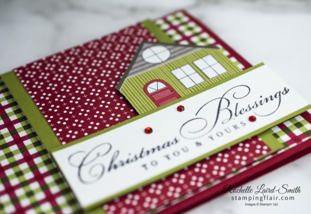 New at SU Blog Hop, December 2020, Wrapped in Christmas, Trimming the Town DSP, Stampin Up!, SU, Christmas Blessings, Warm & Cozy