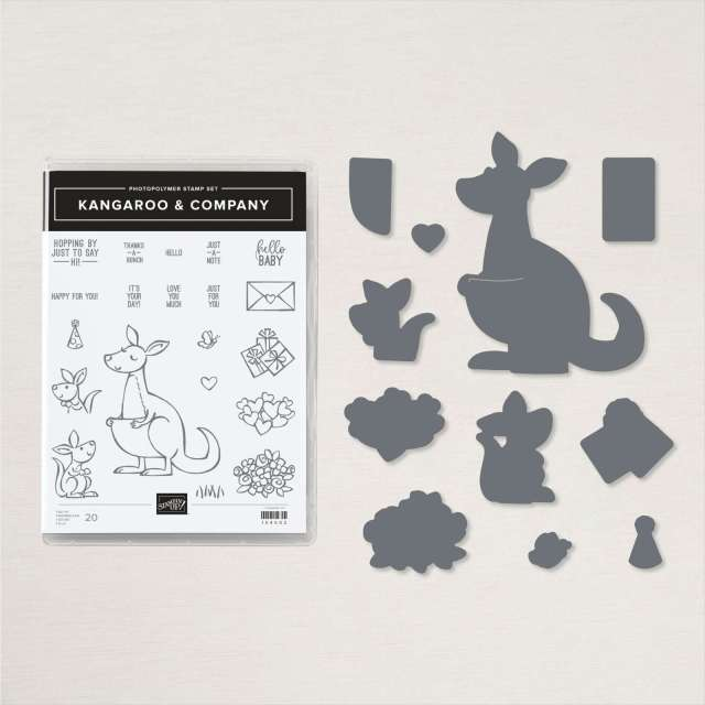 Kangaroo & Company Bundle, One Day Stamp Camp, Stampin' Up!