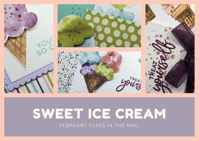 February 2021 Class in the Class, Sweet Ice Cream