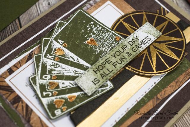 Ink Stamp Share Blog Hop, March 2021, Masculine Card, Men, Boys, Card for Man, Game on Stamp Set, World of Good Suite, Stampin' Up!, SU, Deck of Cards