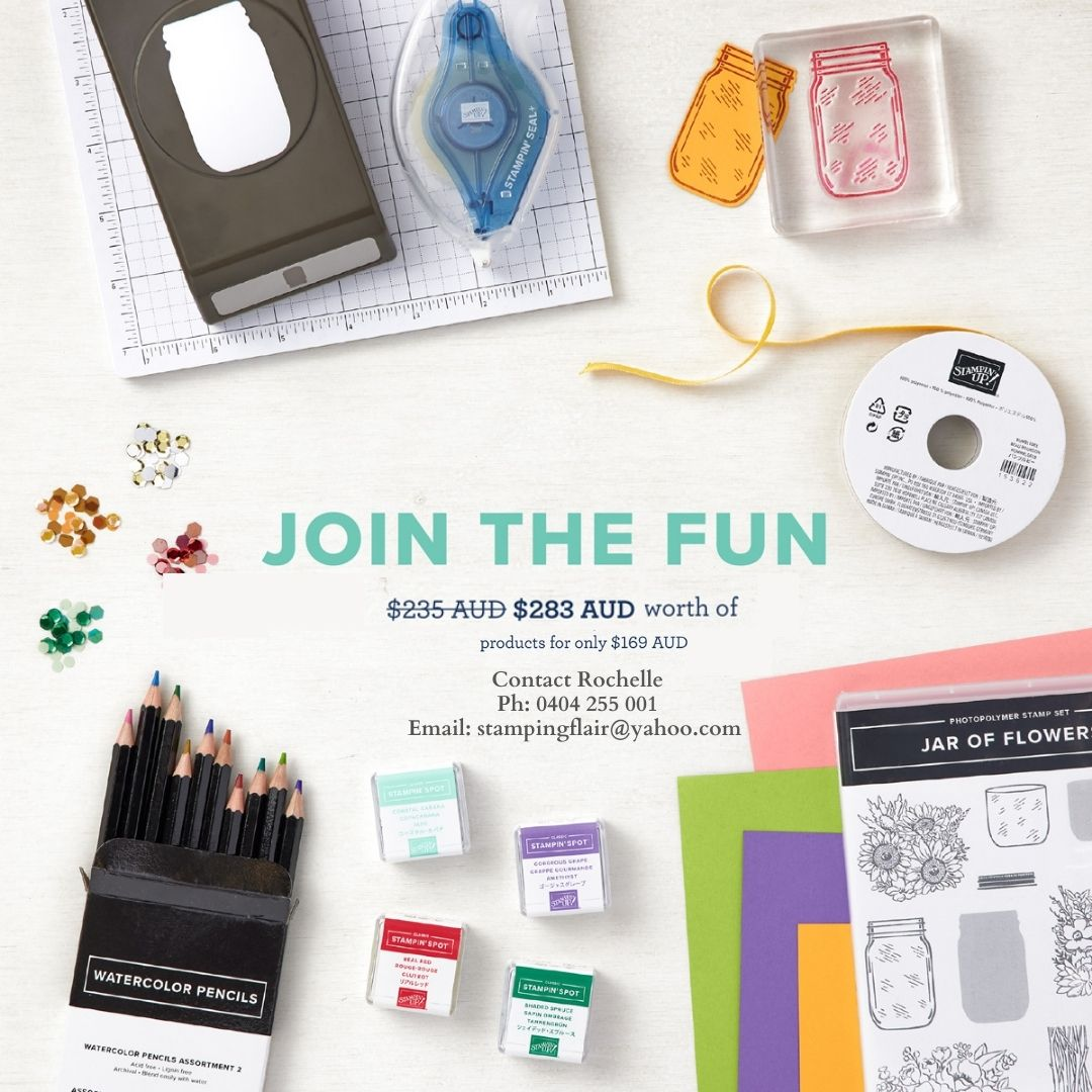 Join Plus Starter Kit Promotion, May 2021, Stampin' Up!, SU