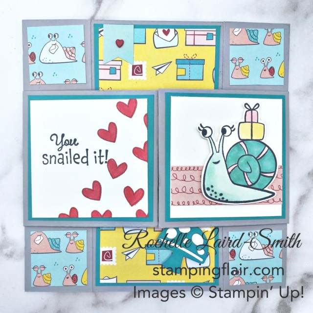 Neverending Card, Infinity Card, Around the World on Wednesday Blog Hop, Awow Blog Hop, May 2021, Snail Mail Suite, Stampin' Up!, SU