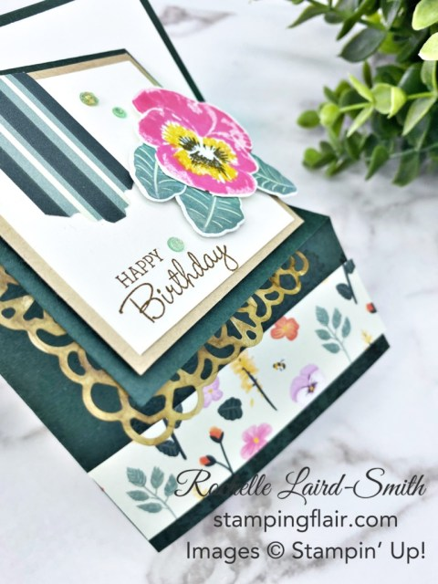 Front Flip Card, Fancy Fold, Fun Fold, Around the World on Wednesday Blog Hop, May 2021, Stampin' Up!, SU