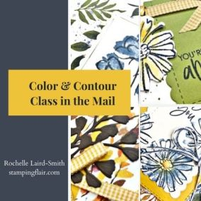 Color & Contour June Class in the Mail