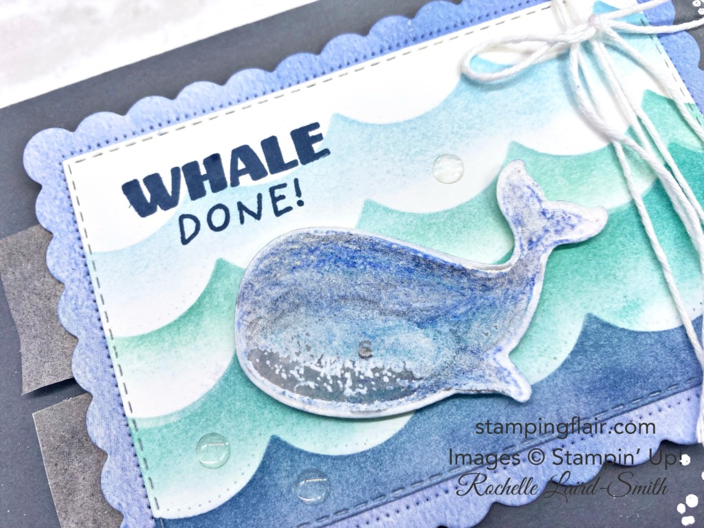 Stamping Inkspirations Blog Hop, Splish Splash, June 2021, Whale Builder Punch, Scalloped Contour Dies, Soft Pastels