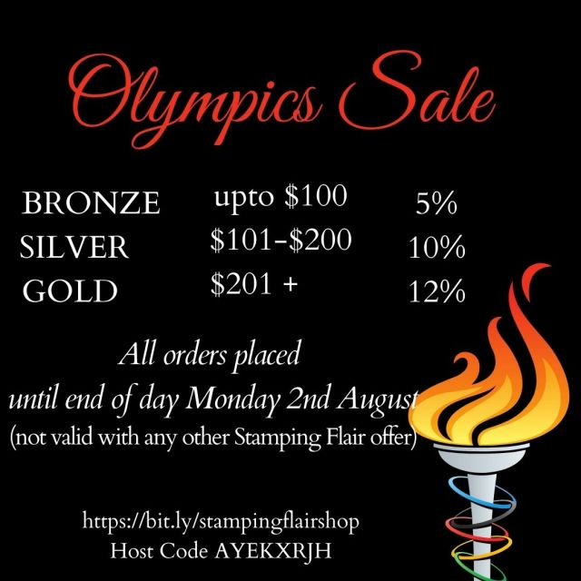 Olympics Sale, Stampin' Up!, SU, Stamping Flair