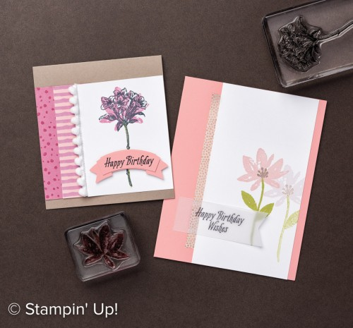 Avant Garden stamp set, Stampin Up, Sale-A-Bration