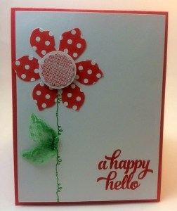 StampinUp All Occasion card made by demo Beth McCullough. Please see more card and gift ideas at www.StampingMom.com #StampingMom