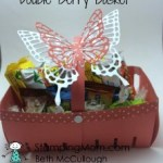 StampinUp Easter Double Berry Basket designed by demo Beth McCullough.  Please see more card and gift ideas at www.StampingMom.com #StampingMom