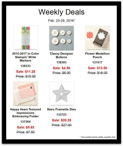 Weekly deals feb 24
