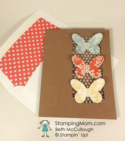 StampinUp Tin of Cards Alternatives designed by demo Beth McCullough. Please see more card and gift ideas at www.StampingMom.com #StampingMom