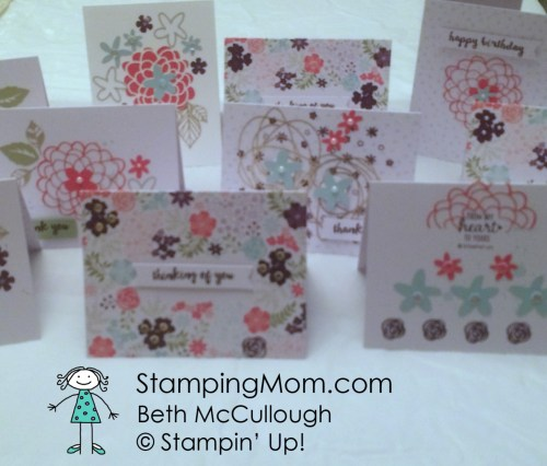 StampinUp Paper Pumpkin Feb 2016 alternative ideas made by demo Beth McCullough.  Please see more card and gift ideas at www.StampingMom.com #StampingMom