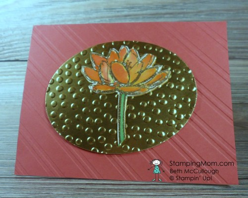 StampinUp All Occasion card made with the Remarkable You stamp set, designed by demo Beth McCullough. See more card and gift ideas at www.Stampingmom.com #StampingMom