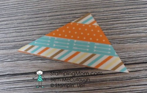 StampinUp Washi Tape Ideas created by demo Beth McCullough. Please see more card and gift ideas at www.StampingMom.com #StampingMom