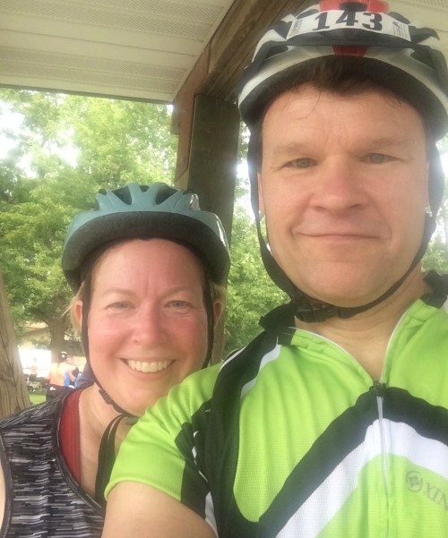 Steve and Beth RAGBRAI 2016