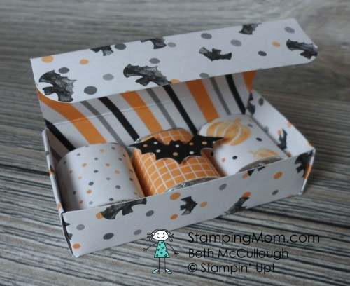 Stampin Up 3 Nugget Box designed by demo Beth McCullough.  Please see more card and gift ideas at www.StampingMom.com #StampingMom