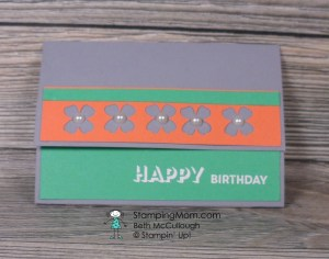 Stampin Up Pop Up Gift Card Holder designed by demo Beth McCullough. Please see more card and gift ideas and directions to make a Pop Up Gift Card Holder at www.StampingMom.com #StampingMom #cute&simple4u