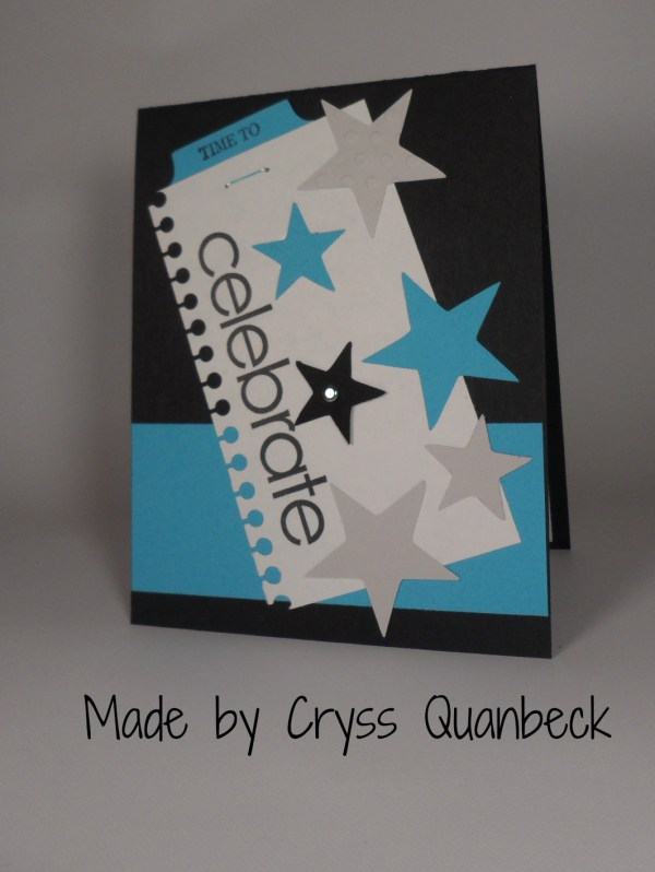 Stampin Up Graduation card made by Cryss Quanbeck. Please see more card and gift ideas at www.StampingMom.com #StampingMom #cute&simple4u