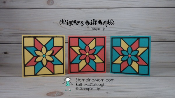 Stampin Up Christmas Quilt Bundle