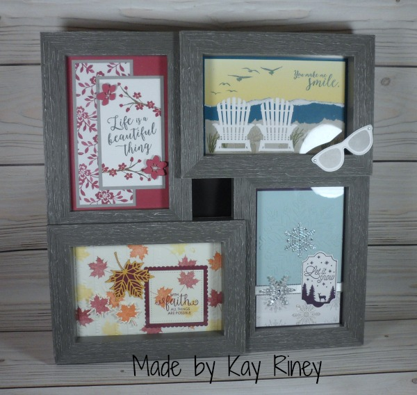 Stampin Up gifts made by the Central Iowa Stampin Up demos. Please see more card and gift ideas at www.StampingMom.com #StampingMom #cute&simple4u