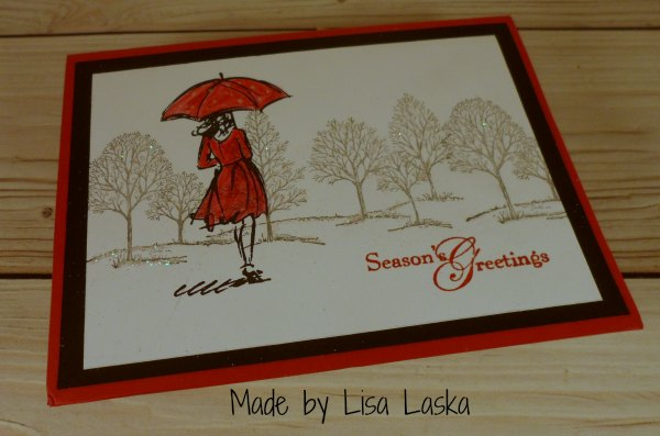 Stampin Up card made by Lisa Laska. Please see more card and gift ideas at www.StampingMom.com #StampingMom #cute&simple4u