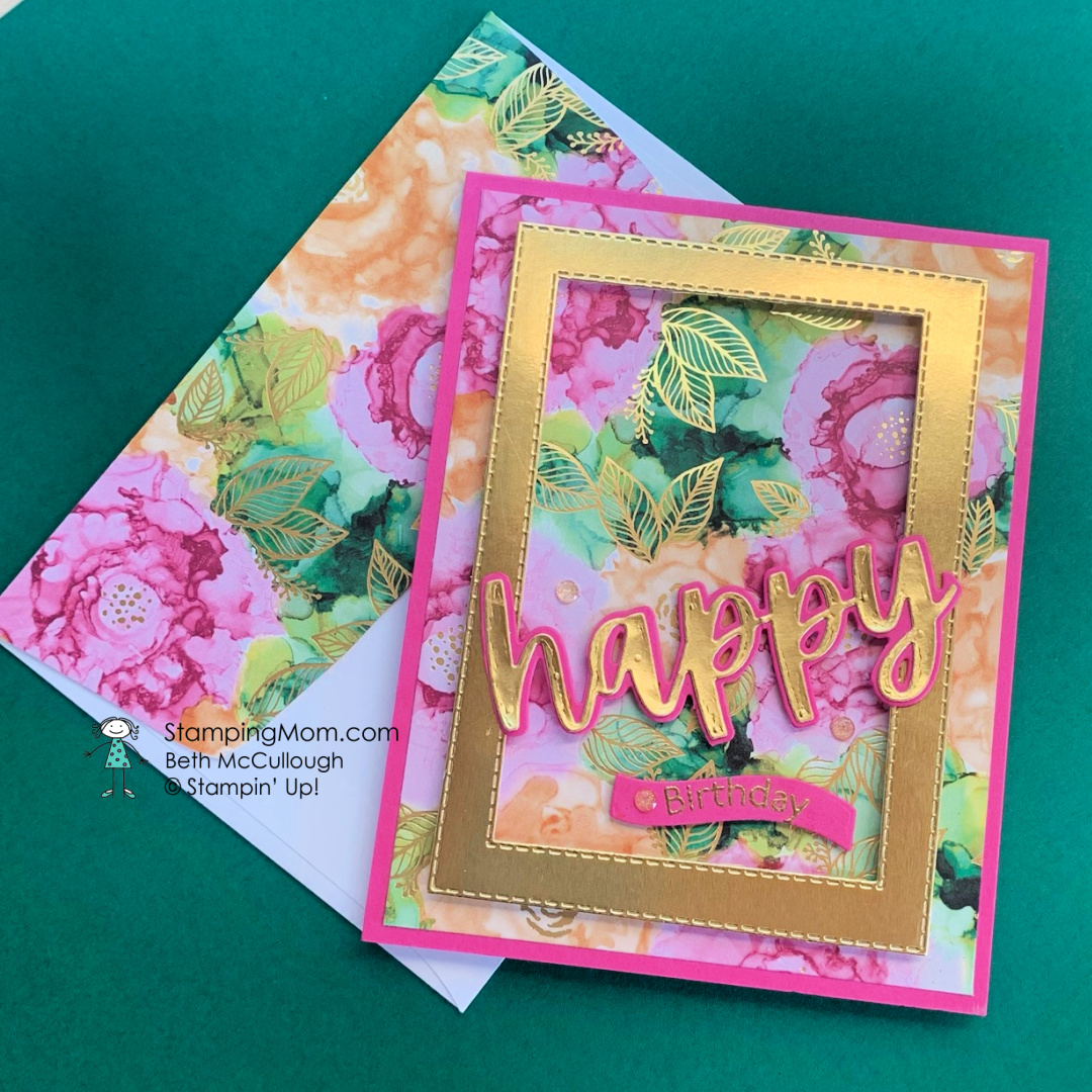 Stampin Up Expressions in Ink