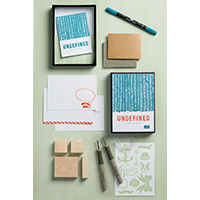 Undefined Carve your own Stamp Kit
