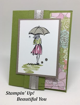 Beautiful You created by Kay Kalthoff, Stampin' Up! and Stamping to Share!