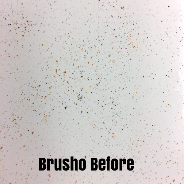 """A Picture of Brusho Crystal Colour on Glossy White Card Stock before it is """"spritzed."""" Kay Kalthoff with #stampingtoshare"""