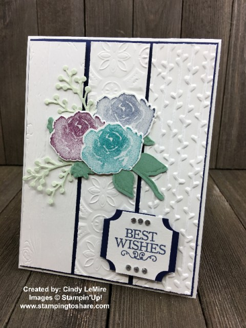 First Frost with Darling Label Punch Box created by Cindy LeMire for Demo Swap with #stampingtoshare